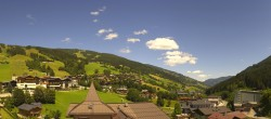 Archived image Webcam View over Saalbach - Alpinresort 08:00