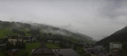 Archiv Foto Webcam Saalbach: Blick vom Alpinresort 07:00