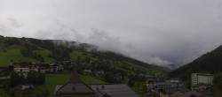 Archiv Foto Webcam Saalbach: Blick vom Alpinresort 09:00