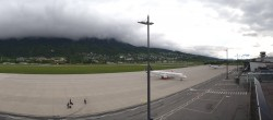 Archiv Foto Webcam Flughafen Innsbruck 08:00