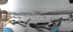Archiv Foto Webcam Hotel Post Lermoos: Zugspitze 08:00
