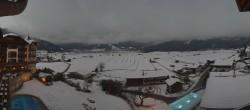 Archiv Foto Webcam Hotel Post Lermoos: Zugspitze 10:00