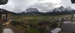 Archiv Foto Webcam Hotel Post Lermoos: Zugspitze 03:00