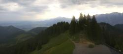 Archiv Foto Webcam Oberammergau - Panoramablick Bergstation Laber 02:00