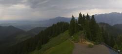 Archiv Foto Webcam Oberammergau - Panoramablick Bergstation Laber 04:00
