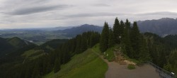 Archiv Foto Webcam Oberammergau - Panoramablick Bergstation Laber 08:00