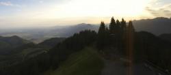 Archived image Webcam Oberammergau - Top Station Laber 02:00