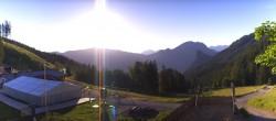 Archived image Webcam Oberammergau - Top station Kolben 00:00
