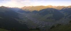 Archived image Webcam Livigno Panorama: Crap de la Pare 06:00