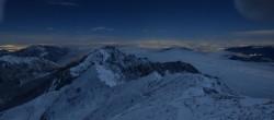 Archiv Foto Webcam Grignone: Grigna settentrionale (2410 m) 22:00