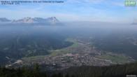 Archiv Foto Webcam Wankhaus - Blick zur Zugspitze 02:00