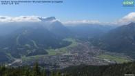 Archiv Foto Webcam Wankhaus - Blick zur Zugspitze 06:00