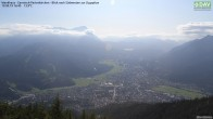 Archiv Foto Webcam Wankhaus - Blick zur Zugspitze 10:00
