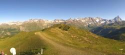 Archiv Foto Webcam Cervino Ski Paradise Chamois 02:00