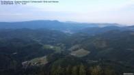 Archiv Foto Webcam Buchkopfturm Schwarzwald - Blick nach Westen 02:00