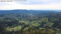 Archiv Foto Webcam Buchkopfturm Schwarzwald - Blick nach Westen 16:00