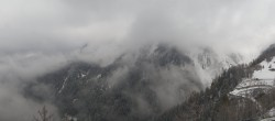 Archiv Foto Webcam Courmayeur Checrouit Panorama 04:00