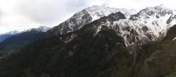 Archiv Foto Webcam Courmayeur Checrouit Panorama 04:00