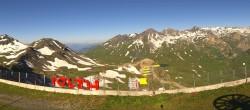 Archiv Foto Webcam La Thuile Chaz Dura Bergstation 02:00