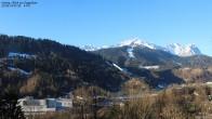 Archiv Foto Webcam Gsteig - Blick zur Zugspitze 05:00
