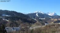 Archiv Foto Webcam Gsteig - Blick zur Zugspitze 08:00
