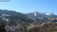 Archiv Foto Webcam Gsteig - Blick zur Zugspitze 10:00