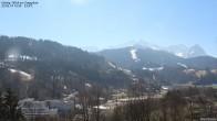 Archiv Foto Webcam Gsteig - Blick zur Zugspitze 11:00