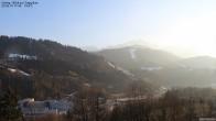 Archiv Foto Webcam Gsteig - Blick zur Zugspitze 15:00