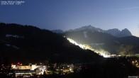 Archiv Foto Webcam Gsteig - Blick zur Zugspitze 17:00