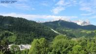 Archiv Foto Webcam Gsteig - Blick zur Zugspitze 00:00