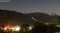 Archiv Foto Webcam Gsteig - Blick zur Zugspitze 18:00