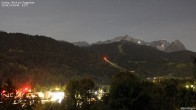 Archiv Foto Webcam Gsteig - Blick zur Zugspitze 22:00