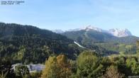 Archiv Foto Webcam Gsteig - Blick zur Zugspitze 02:00
