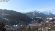 Archiv Foto Webcam Gsteig - Blick zur Zugspitze 04:00