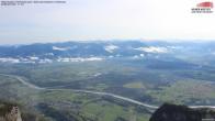 Archiv Foto Webcam Drehrestaurant Hoher Kasten - Blick ins Rheintal 04:00