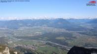 Archiv Foto Webcam Drehrestaurant Hoher Kasten - Blick ins Rheintal 10:00