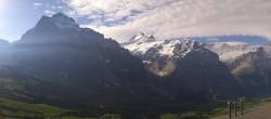 Archiv Foto Webcam Grindelwald First Mittelstation 02:00