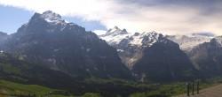 Archiv Foto Webcam Grindelwald First Mittelstation 04:00