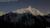 Archiv Foto Webcam Gamshütte Zillertal Blick zum Tristner 18:00