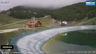Archiv Foto Webcam Campo Felice – Talstation Sessellift Cisterna und Chalet del Lago, Italien 04:00