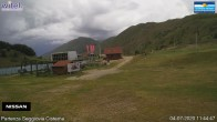 Archiv Foto Webcam Campo Felice – Pisten Lupo, Gigi Panei, Sagittario und Rondini 06:00