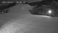 Archiv Foto Webcam Skigebiet Gala Yuzawa - Blick auf die Piste 22:00