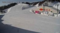 Archiv Foto Webcam Skigebiet Gala Yuzawa - Blick auf die Piste 02:00