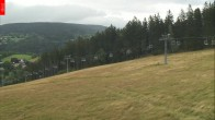 Archived image Webcam Aldrov - View of chairlift Prezidentský expres (Czech Republic) 08:00
