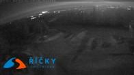 Archiv Foto Webcam Říčky v Orlických- Bergstation Sesselbahn Zakletý (Tschechien) 23:00