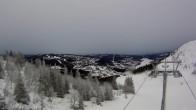 Archiv Foto Webcam Sadelexpressen Bergstation Skigebiet Åre 06:00