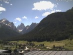 Archived image Webcam Sexten - View from Hotel Gruber 08:00
