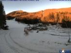 Archiv Foto Webcam Monte Cimone - Lago della Ninfa 02:00