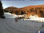 Archiv Foto Webcam Monte Cimone - Lago della Ninfa 04:00
