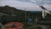 Archived image Webcam Ruka - Chair lift Saarua 19:00